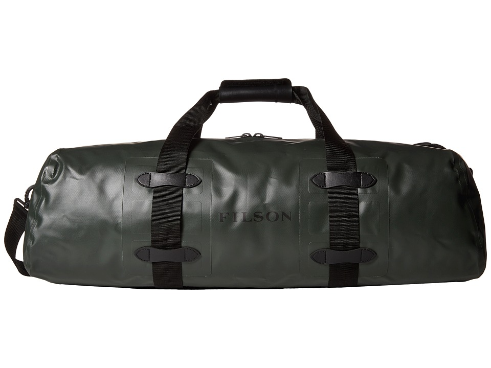 Filson - Dry Duffel - Medium Zip-Top (Green) Duffel Bags