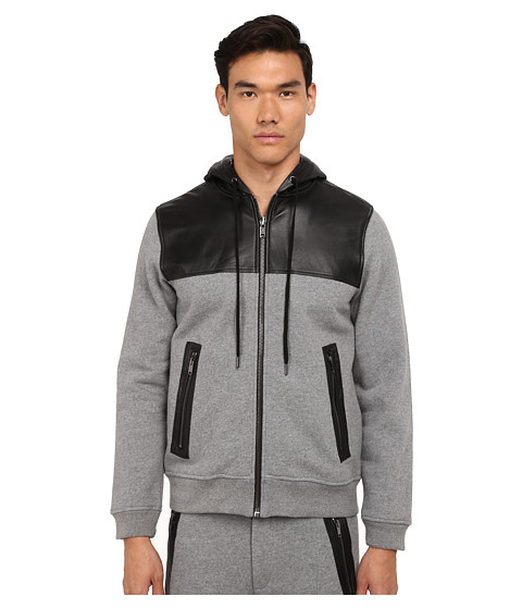Marc by Marc Jacobs - Luke Sweatshirt (Grey Melange) Men