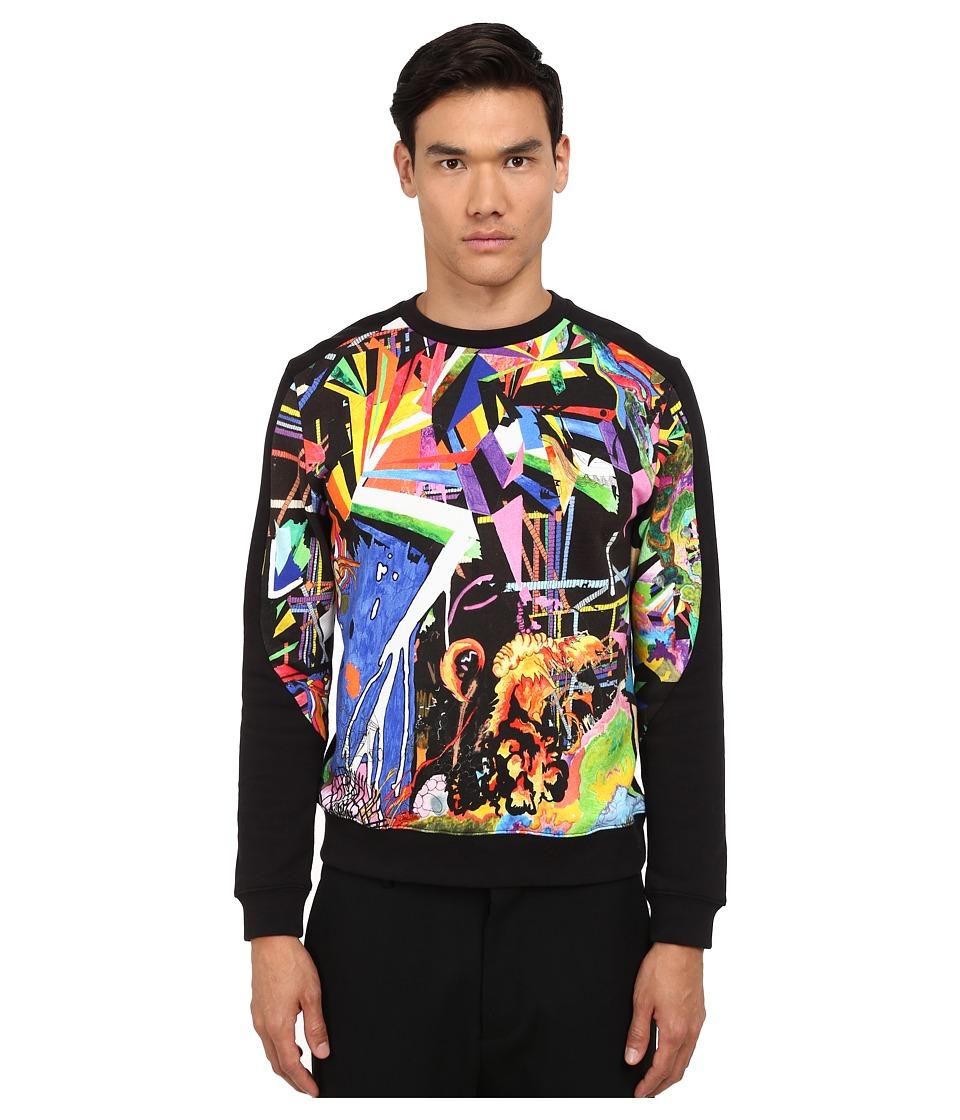 Marc by Marc Jacobs - Kaleidoscope Sweatshirt (Vivid Multi) Men's Sweatshirt