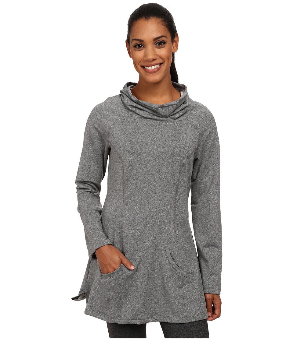 Stonewear Designs - Maha Tunic (Stone Heather) Women's Long Sleeve Pullover