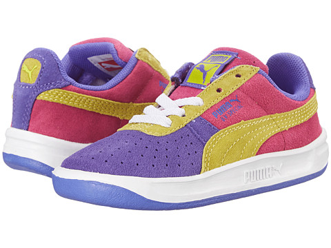 Puma Kids - GV Special NM (Toddler/Little Kid/Big Kid) (Blue Iris/Sulphur Spring/Fuchsia Purple) Boys Shoes