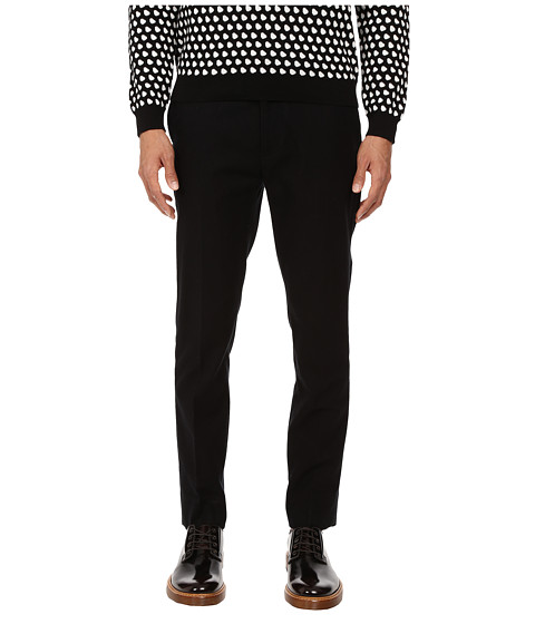 Marc by Marc Jacobs - Brushed Cotton Trousers (Black) Men