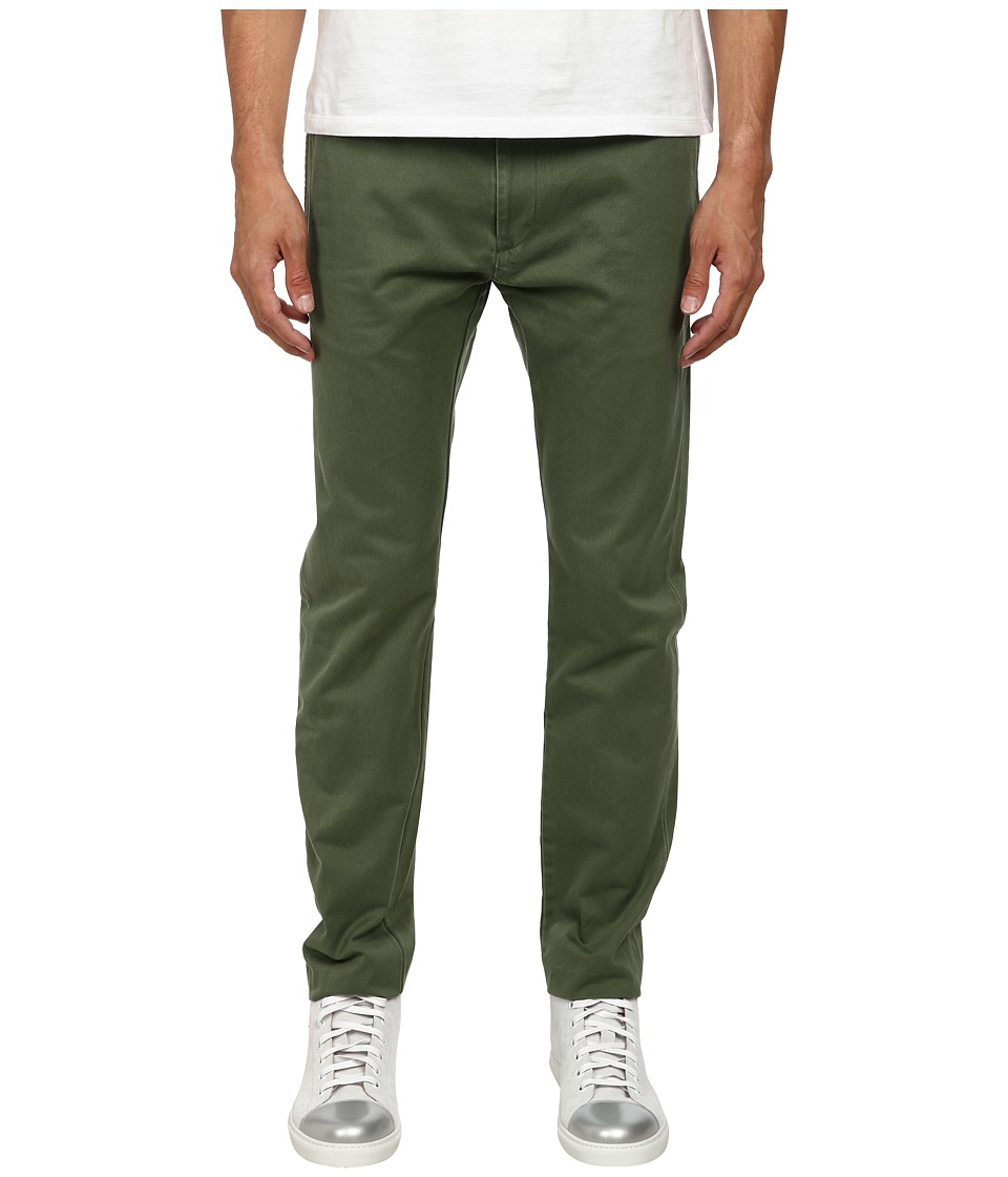 Marc by Marc Jacobs - Classic Cotton Trousers (Cypress) Men