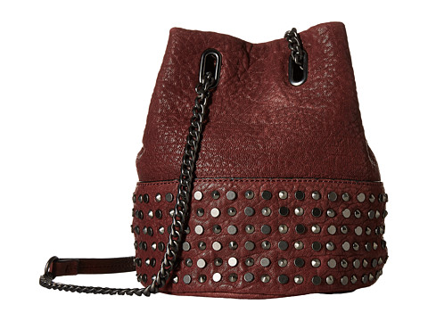 She + Lo - Livin The Dream Chain Crossbody (Burgundy) Cross Body Handbags