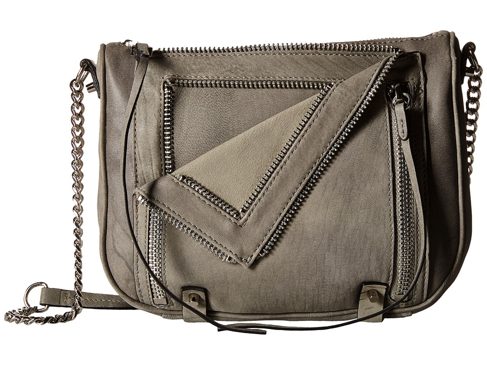 She + Lo - Let It Ride Crossbody (Washed Light Grey) Cross Body Handbags