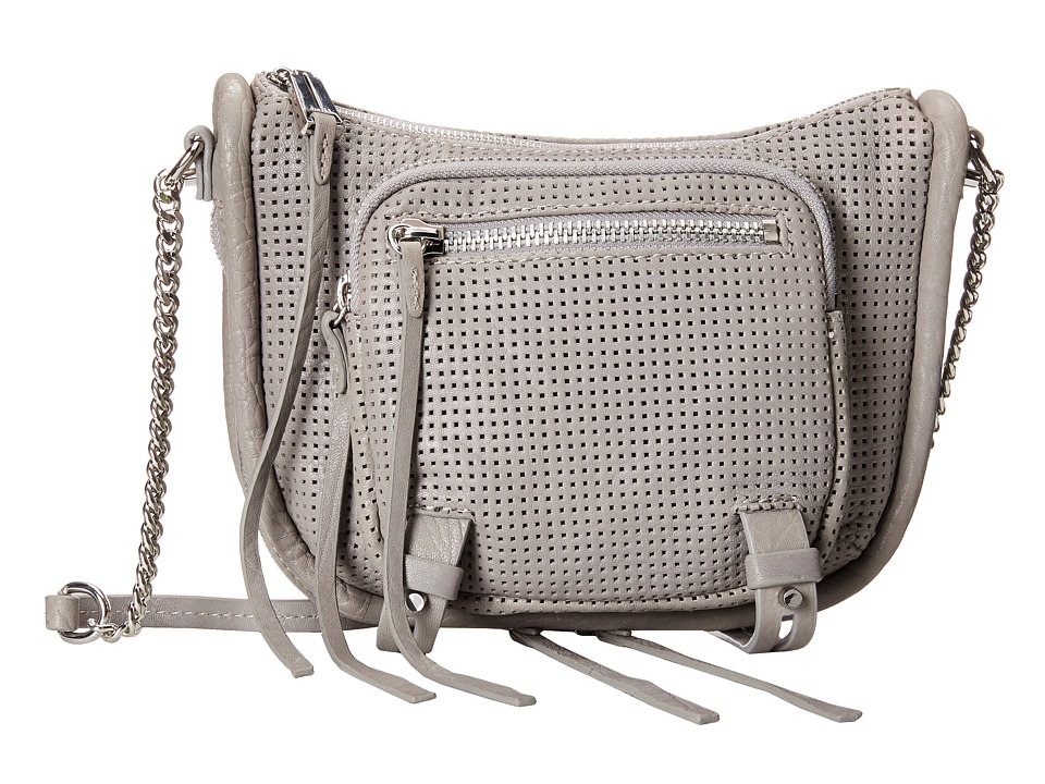 She + Lo - Rise Above Zip Crossbody (Grey) Cross Body Handbags