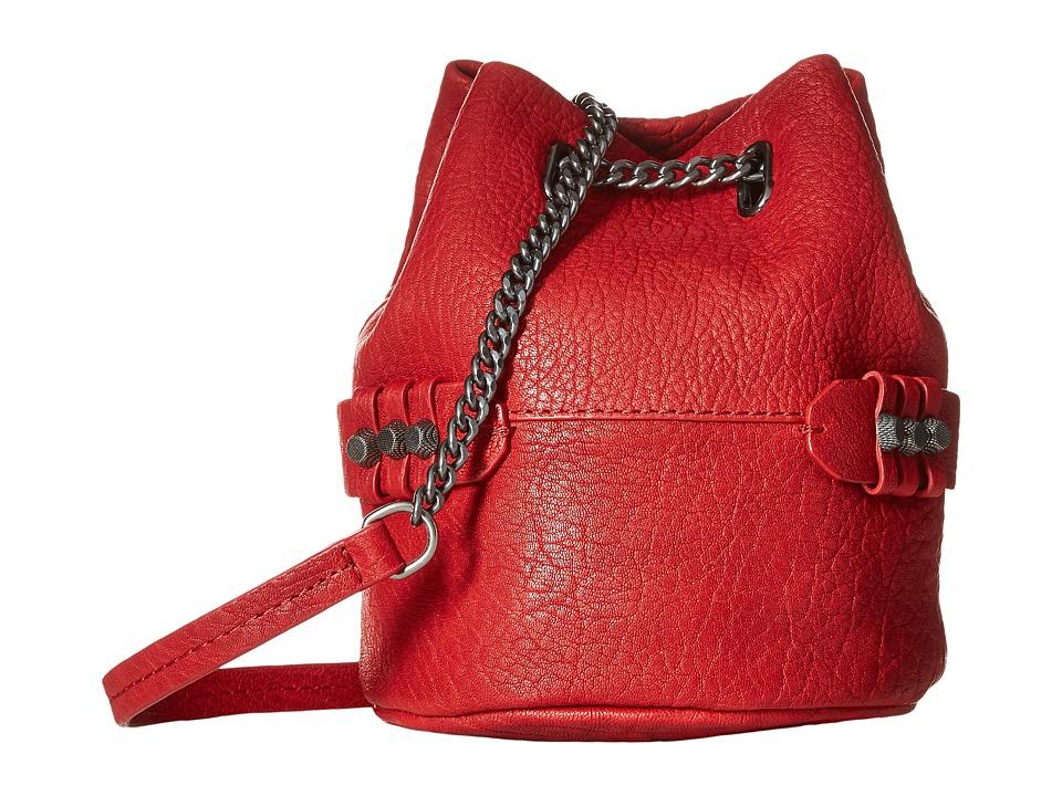 She + Lo - Lookin Up Chain Crossbody (Red) Cross Body Handbags