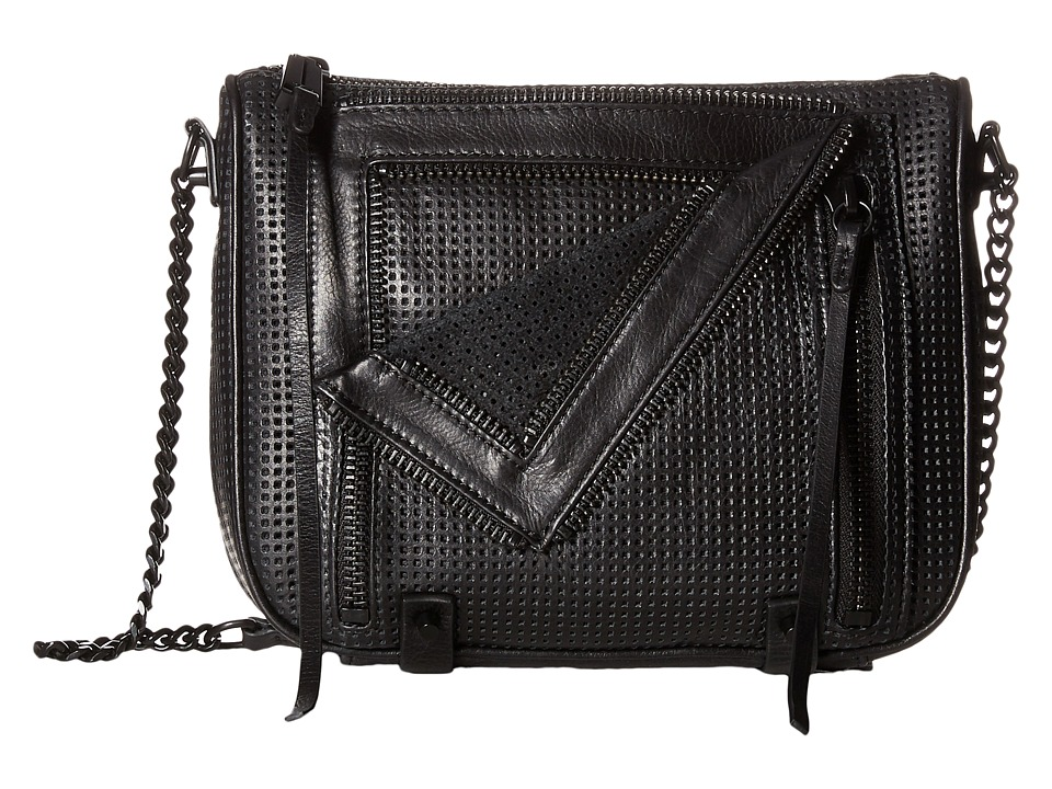 She + Lo - Let It Ride Crossbody (Black 1) Cross Body Handbags
