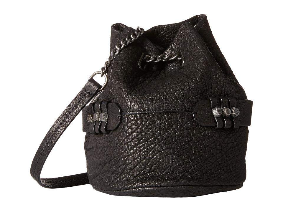 She + Lo - Lookin Up Chain Crossbody (Black) Cross Body Handbags