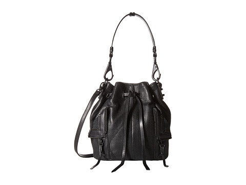 She + Lo - Let It Ride Drawstring (Black 1) Drawstring Handbags