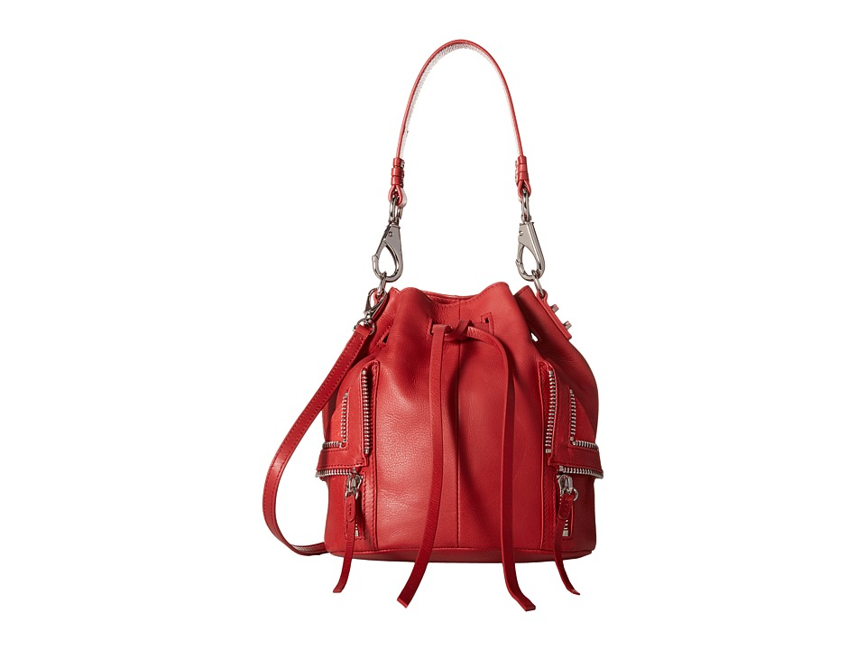 She + Lo - Let It Ride Drawstring (Red) Drawstring Handbags
