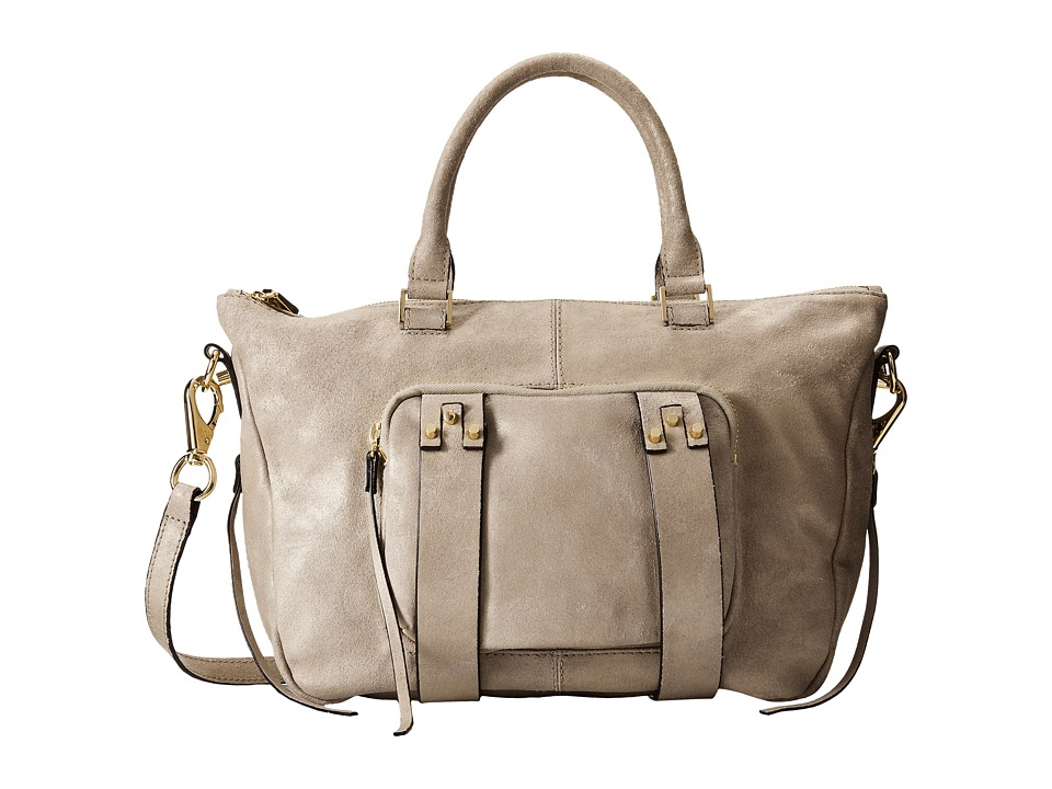She + Lo - Next Chapter Satchel (Cream Metallic) Satchel Handbags