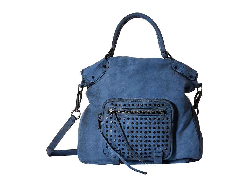 She + Lo - Livin The Dream Convertible (Washed Navy) Convertible Handbags