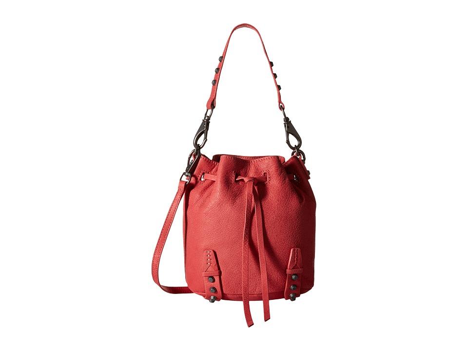 She + Lo - Aim High Mini Bucket (Coral) Shoulder Handbags