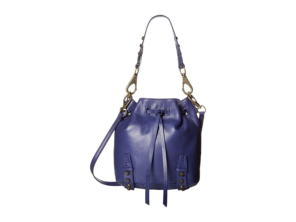 She + Lo - Aim High Mini Bucket (Dark Purple) Shoulder Handbags