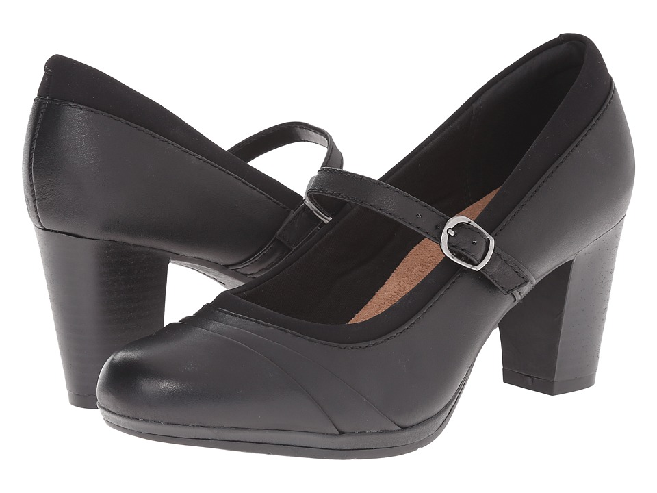 Clarks - Brynn Ivy (Black Leather) High Heels