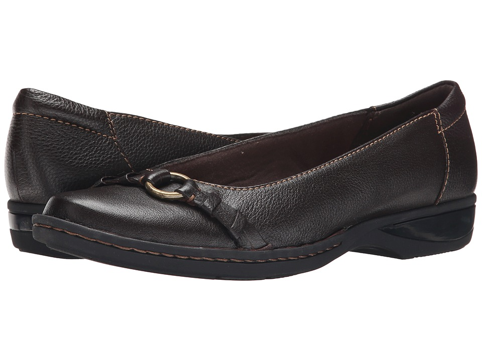 Clarks - Pegg Alba (Brown Leather) Women