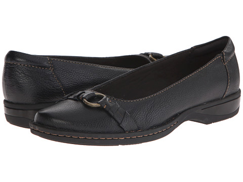 Clarks - Pegg Alba (Black Leather) Women