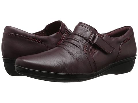 Clarks - Everlay Coda (Burgundy Leather) Women