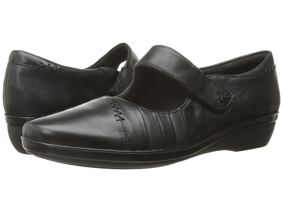 Clarks - Everlay Daphne (Black Leather) Women