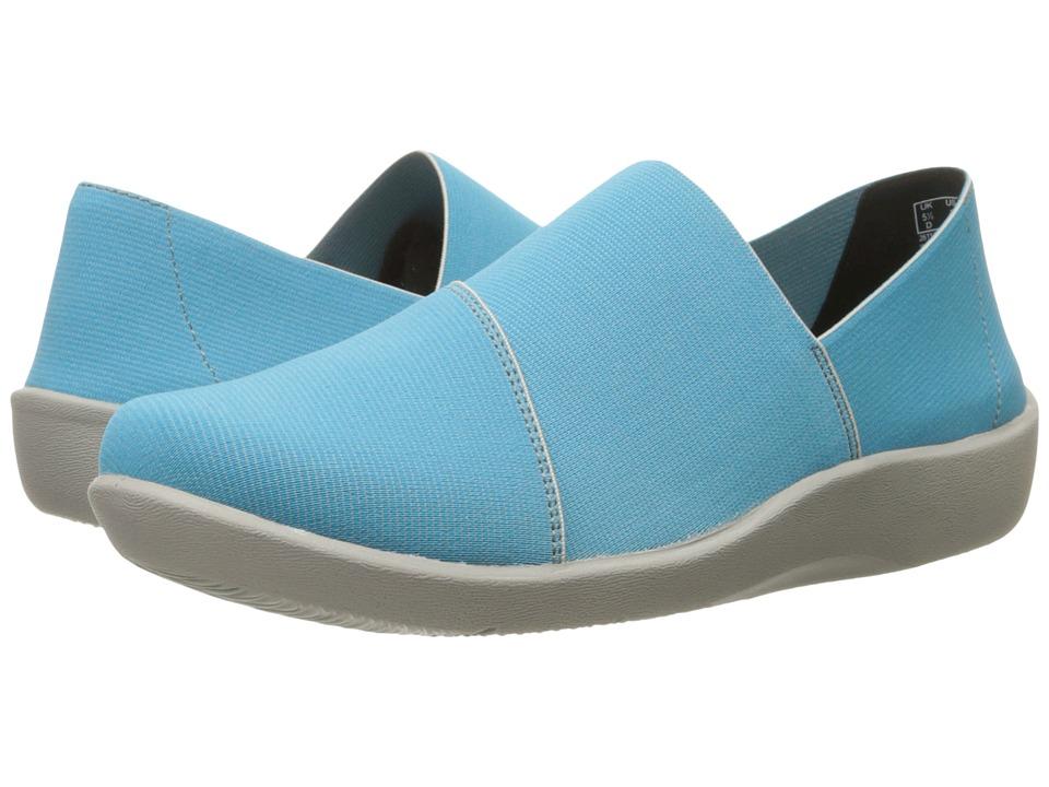 Clarks - Sillian Firn (Aqua) Women's Shoes