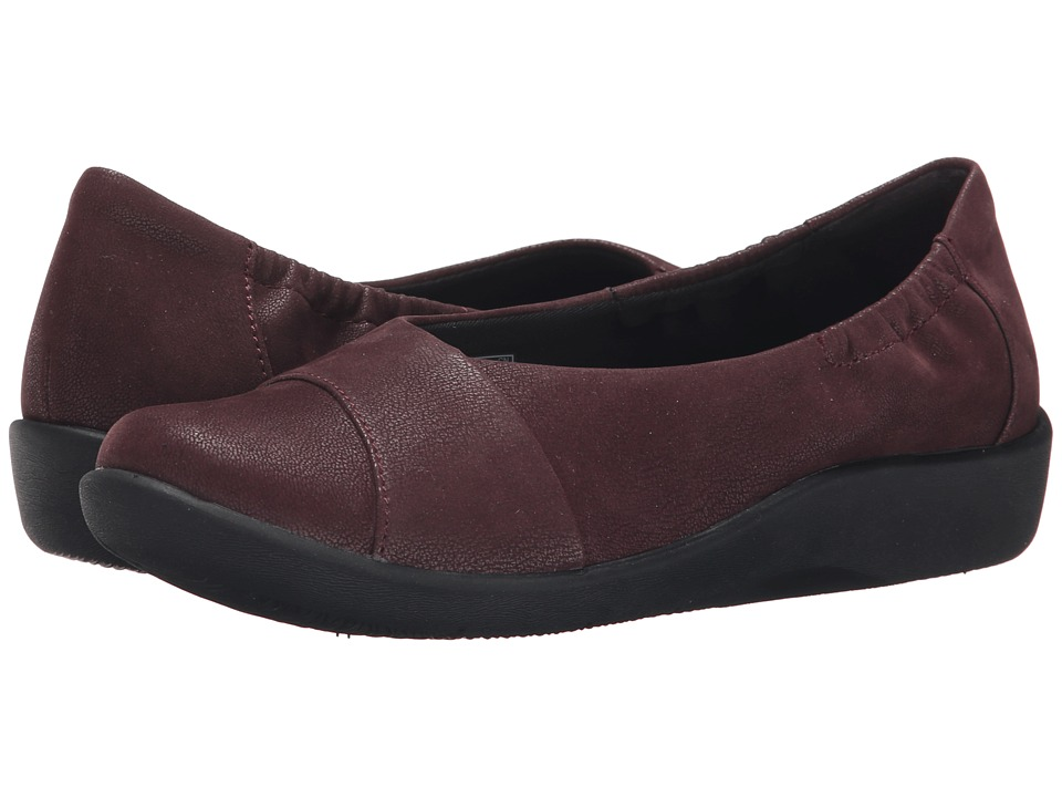 Clarks - Sillian Intro (Burgundy) Women's Shoes