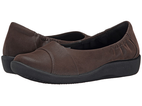Clarks - Sillian Intro (Dark Brown) Women's Shoes