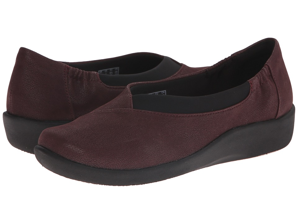 Clarks - Sillian Jetay (Burgundy) Women
