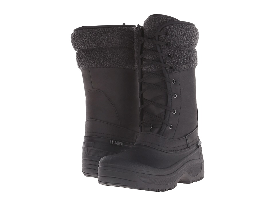 Tundra Boots - Stoughton (Black) Women's Work Boots