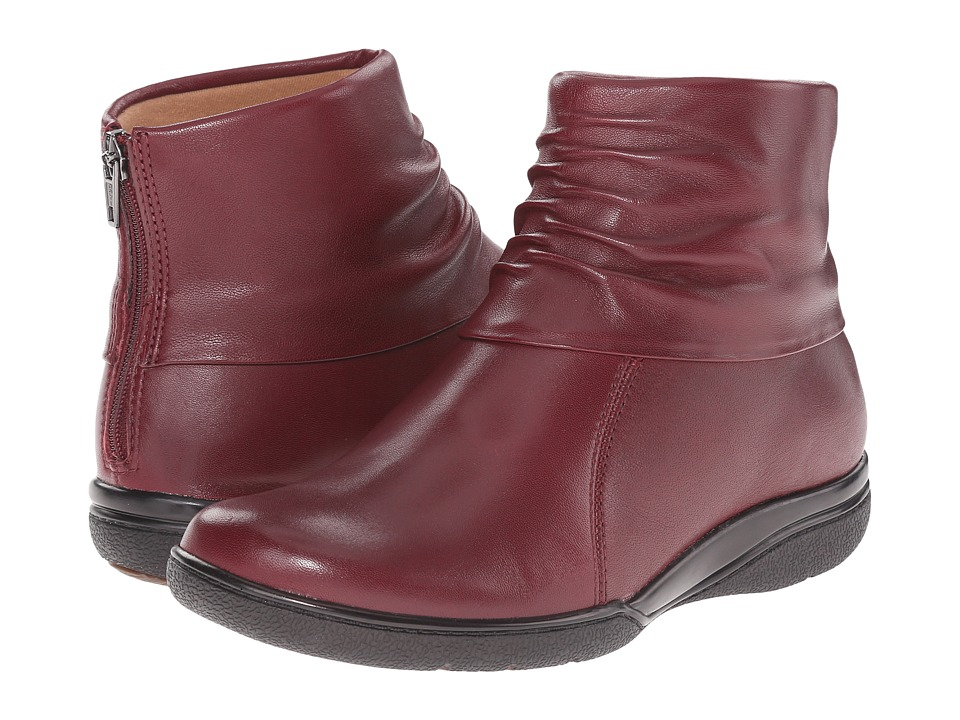 Clarks - Kearns Awe (Burgundy Leather) Women