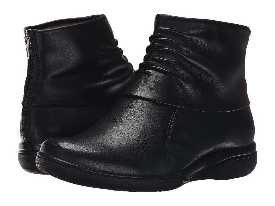 Clarks - Kearns Awe (Black Leather) Women
