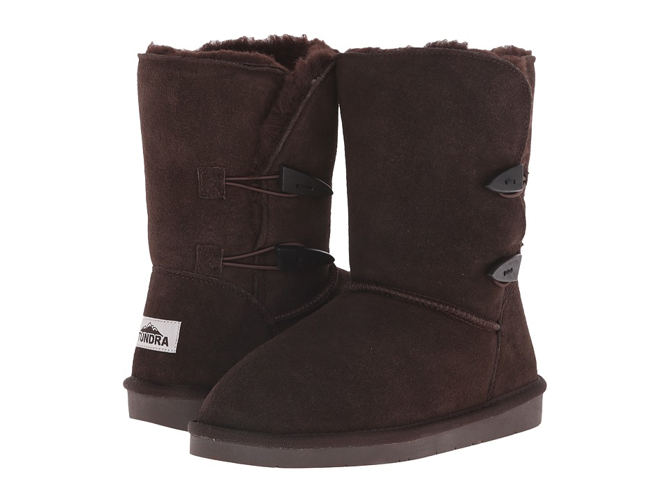 Tundra Boots - Whitney (Chocolate) Women's Work Boots