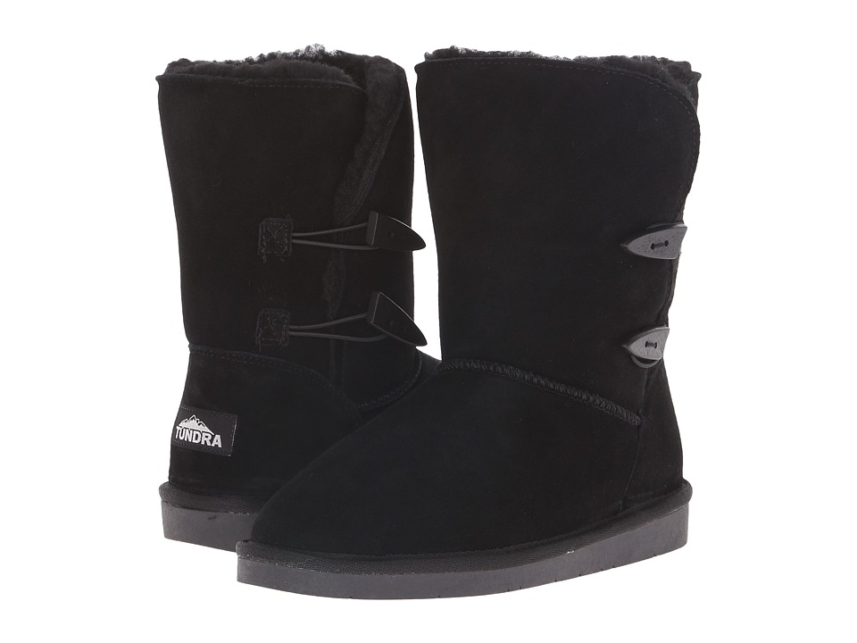 Tundra Boots - Whitney (Black) Women's Work Boots