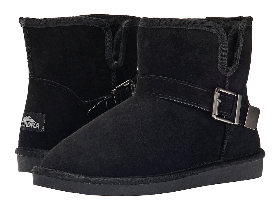 Tundra Boots - Belmont (Black) Women's Work Boots