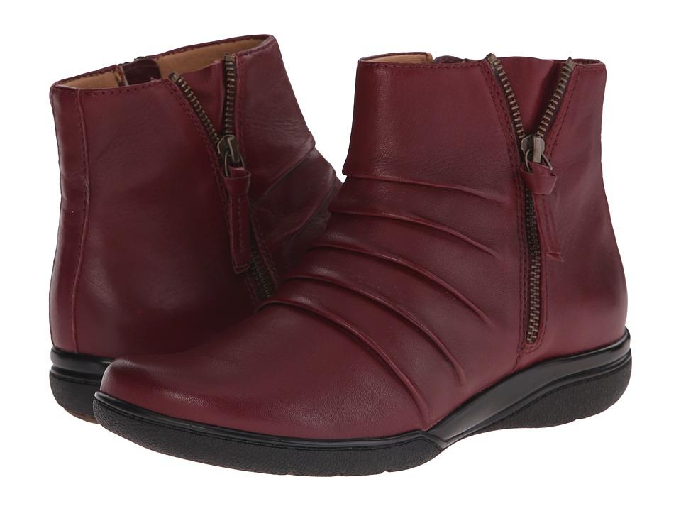 Clarks - Kearns Blush (Burgundy Leather) Women