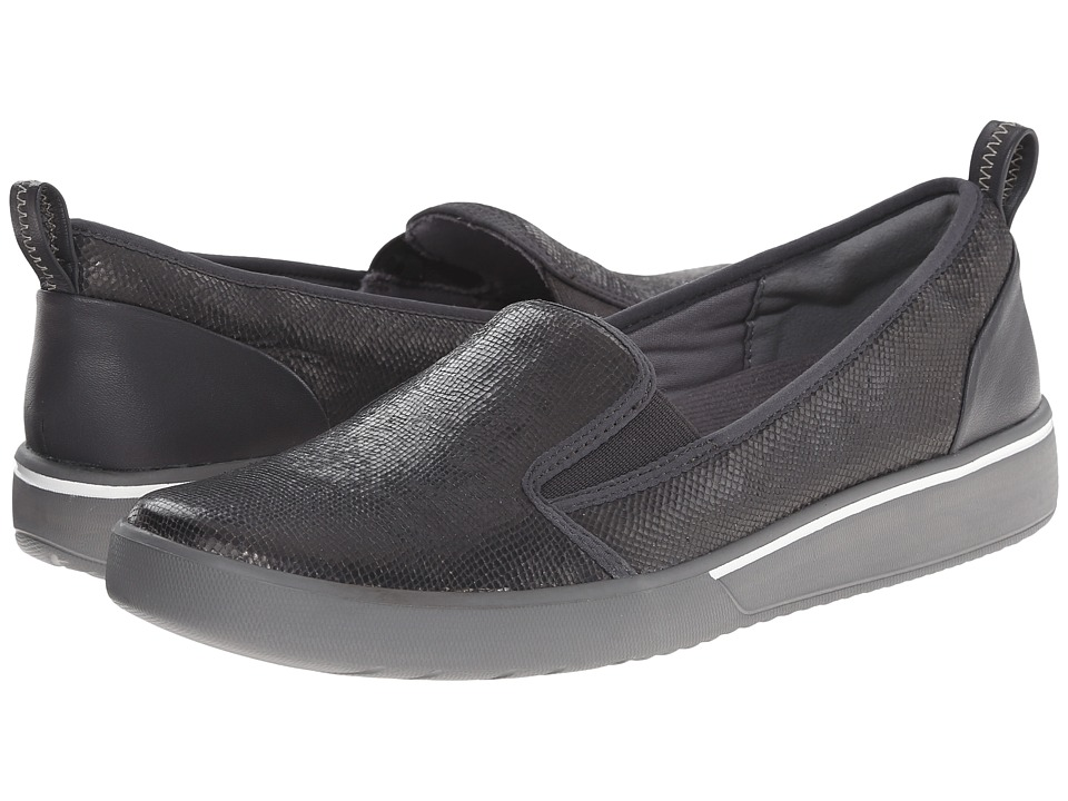 Clarks - Penwick Albee (Dark Grey Leather) Women