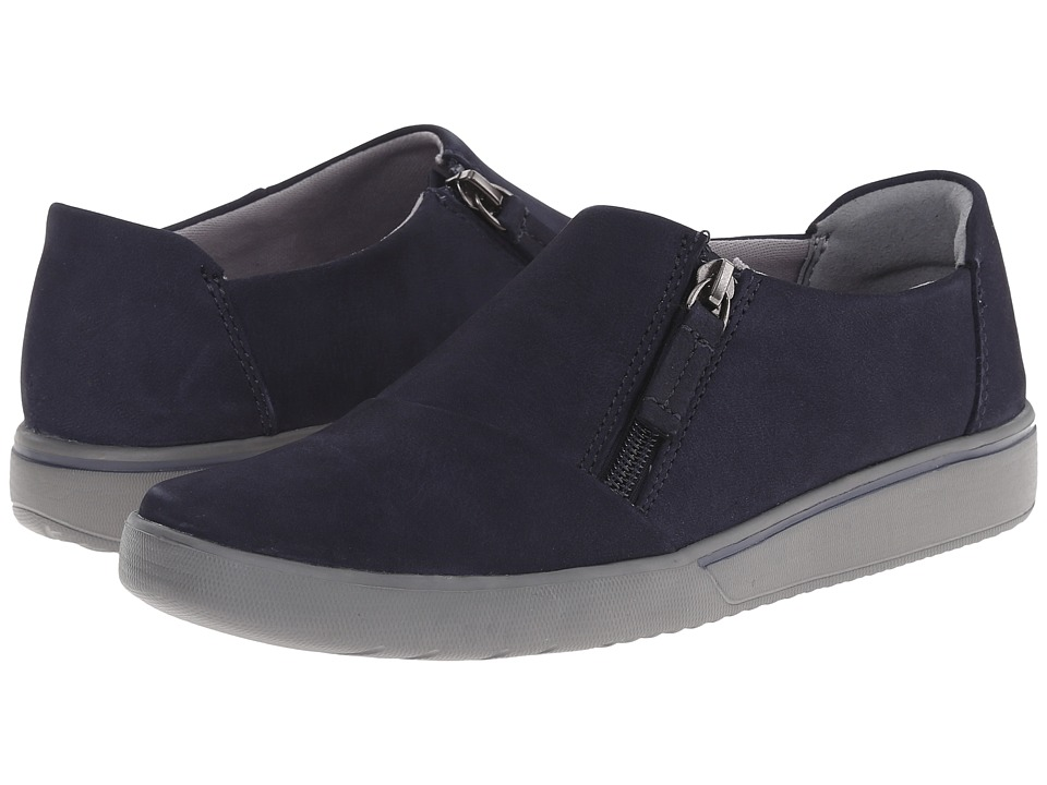 Clarks - Penwick Molto (Navy Suede) Women's Shoes