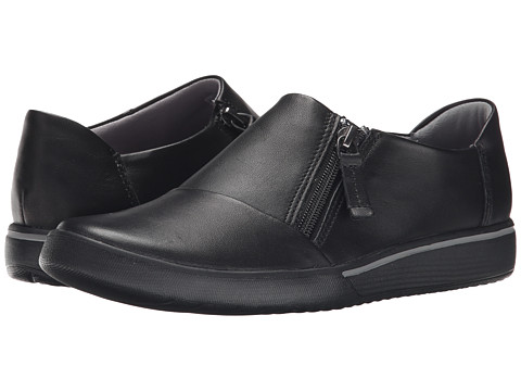 Clarks - Penwick Molto (Black Leather) Women's Shoes