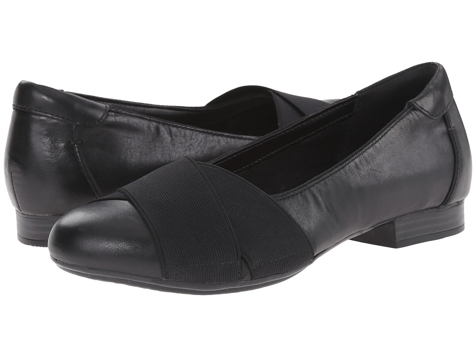 Clarks - Bayham Raine (Black Leather) Women