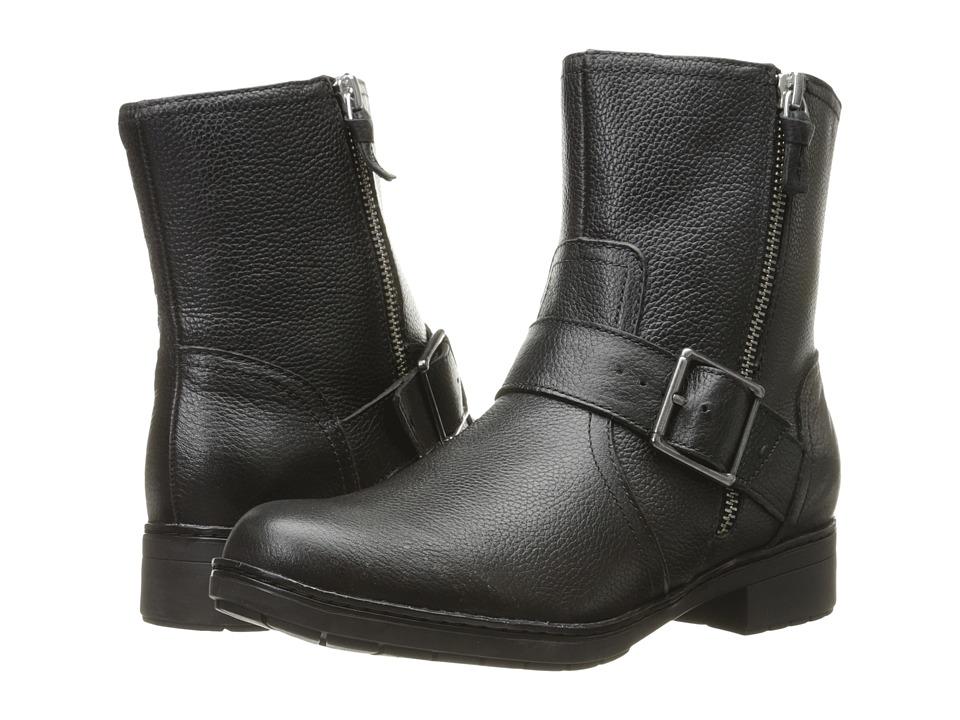 Clarks Merrian Lynn (Black Leather) Women