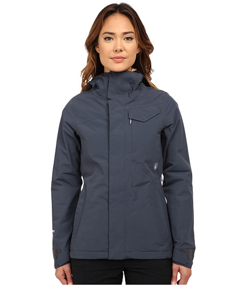 Volcom Snow - Bow Insulated Gore-Tex Jacket (Charcoal) Women