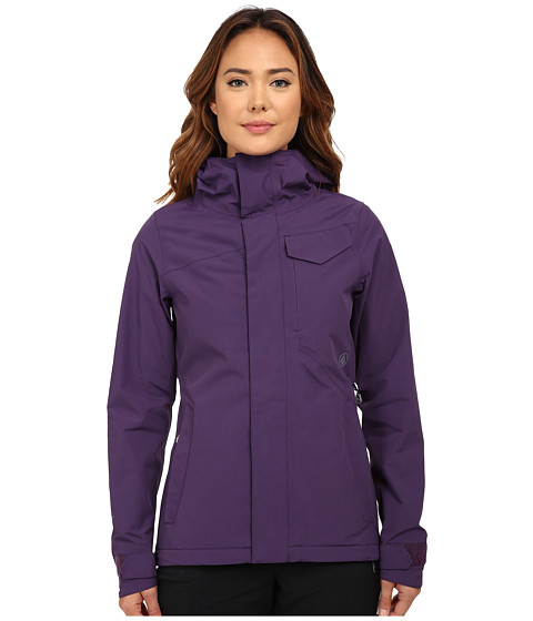 Volcom Snow - Bow Insulated Gore-Tex Jacket (Purple) Women's Coat