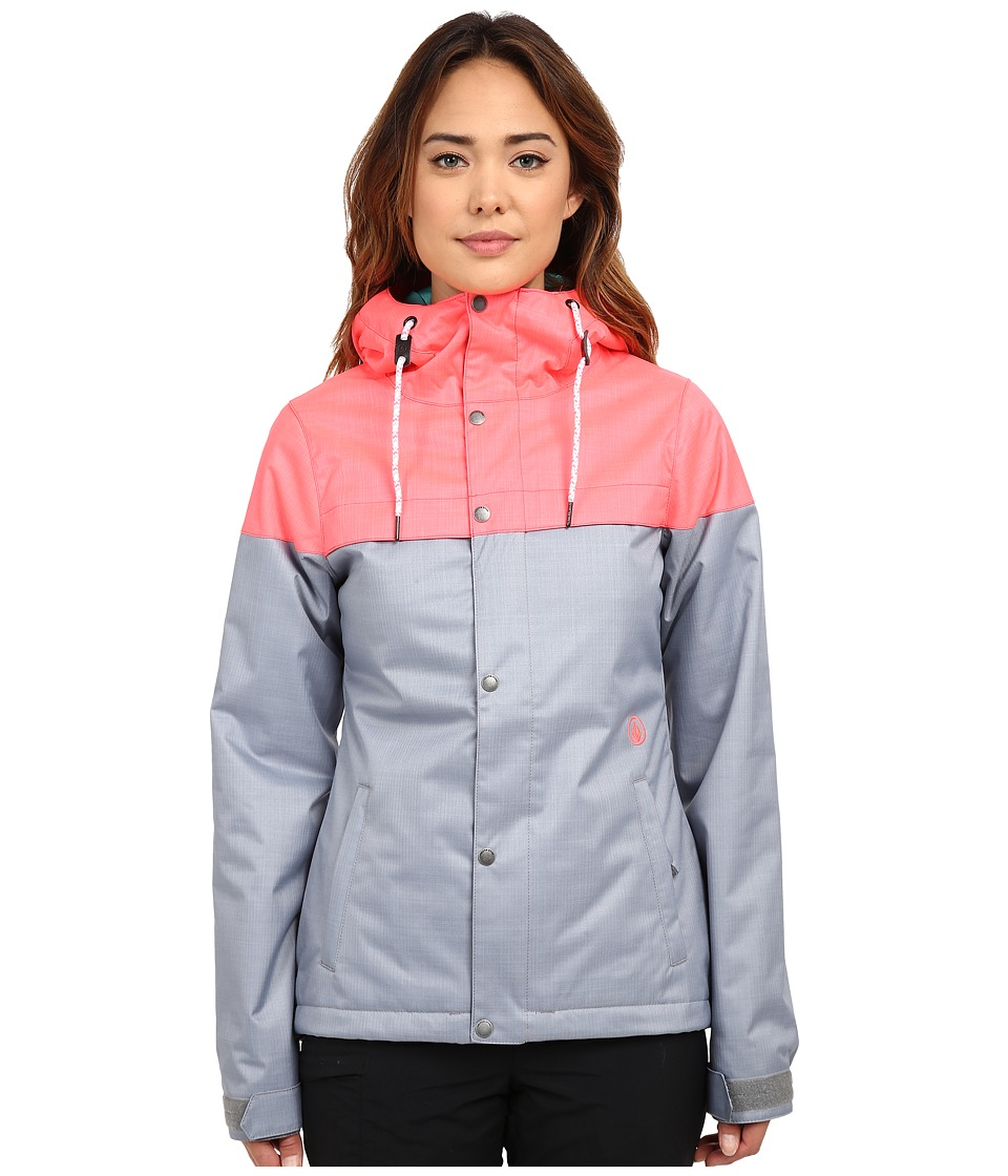 Volcom Snow - Bolt Insulated Jacket (Electric Pink) Women's Coat