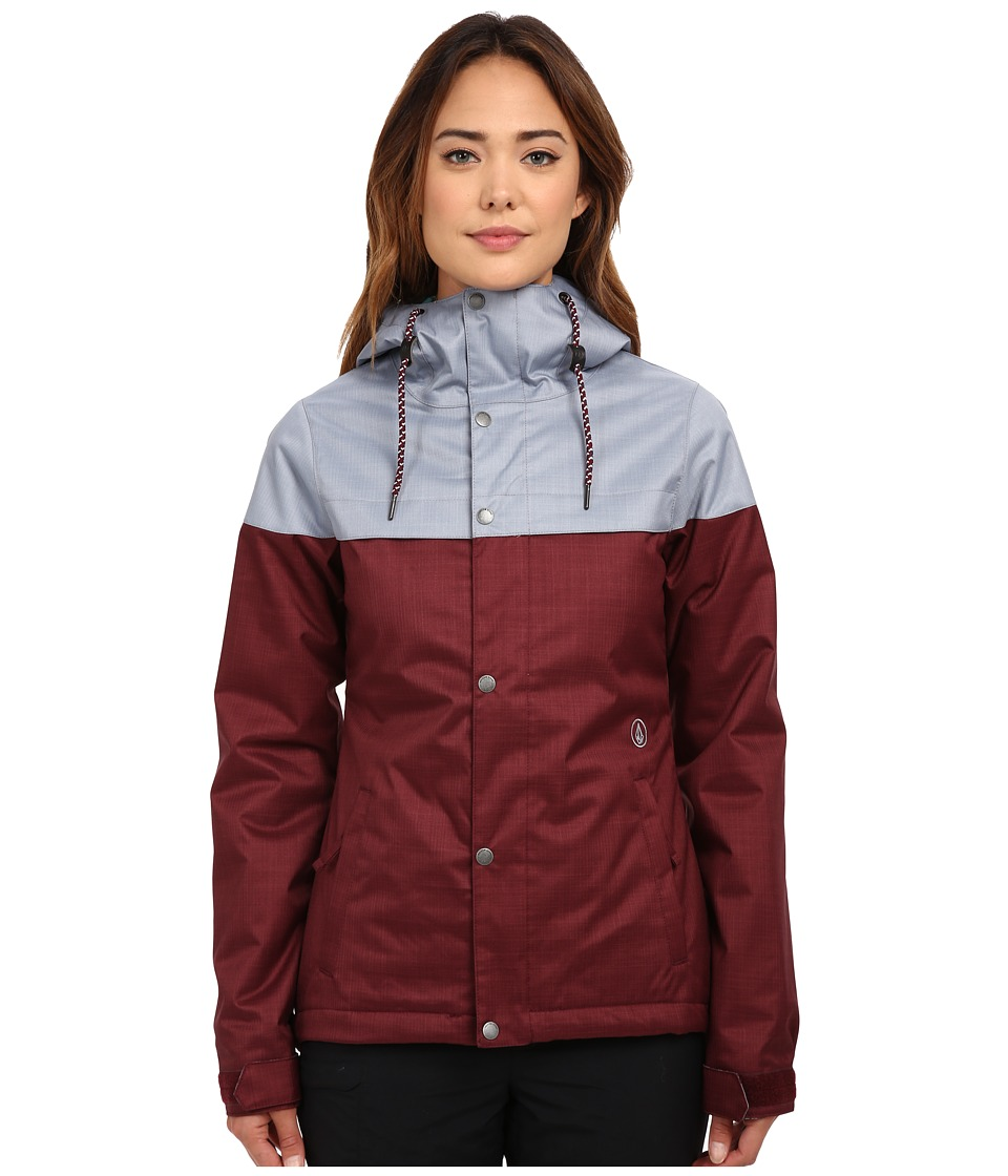 Volcom Snow - Bolt Insulated Jacket (Port) Women's Coat