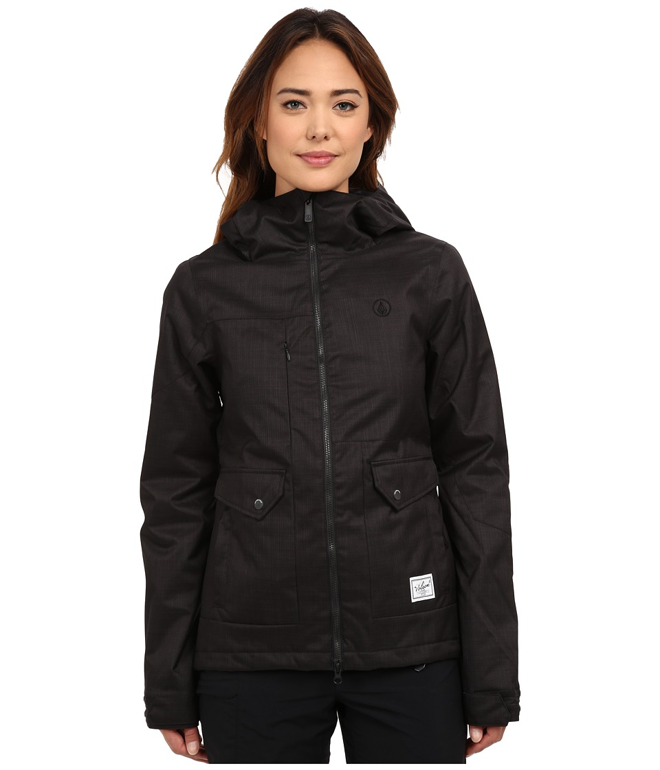 Volcom Snow - Era Insulated Jacket (Black) Women's Coat