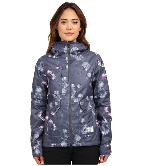 Volcom Snow - Era Insulated Jacket (Dark Grey) Women's Coat
