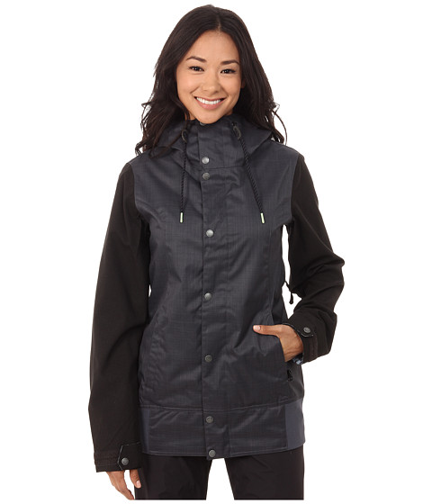 Volcom Snow - Stave Jacket (Charcoal) Women's Coat