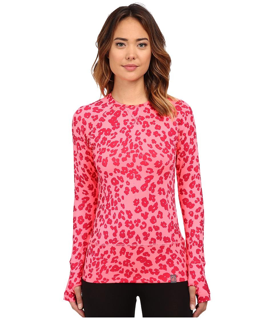 Volcom Snow - Essence Crew Top (Electric Pink) Women's Clothing