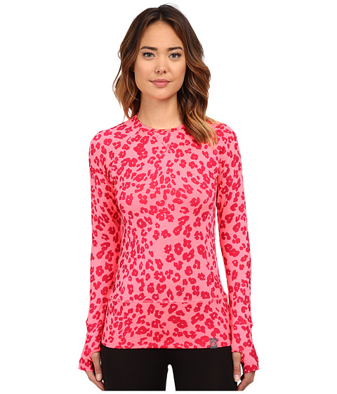 Volcom Snow - Essence Crew Top (Electric Pink) Women