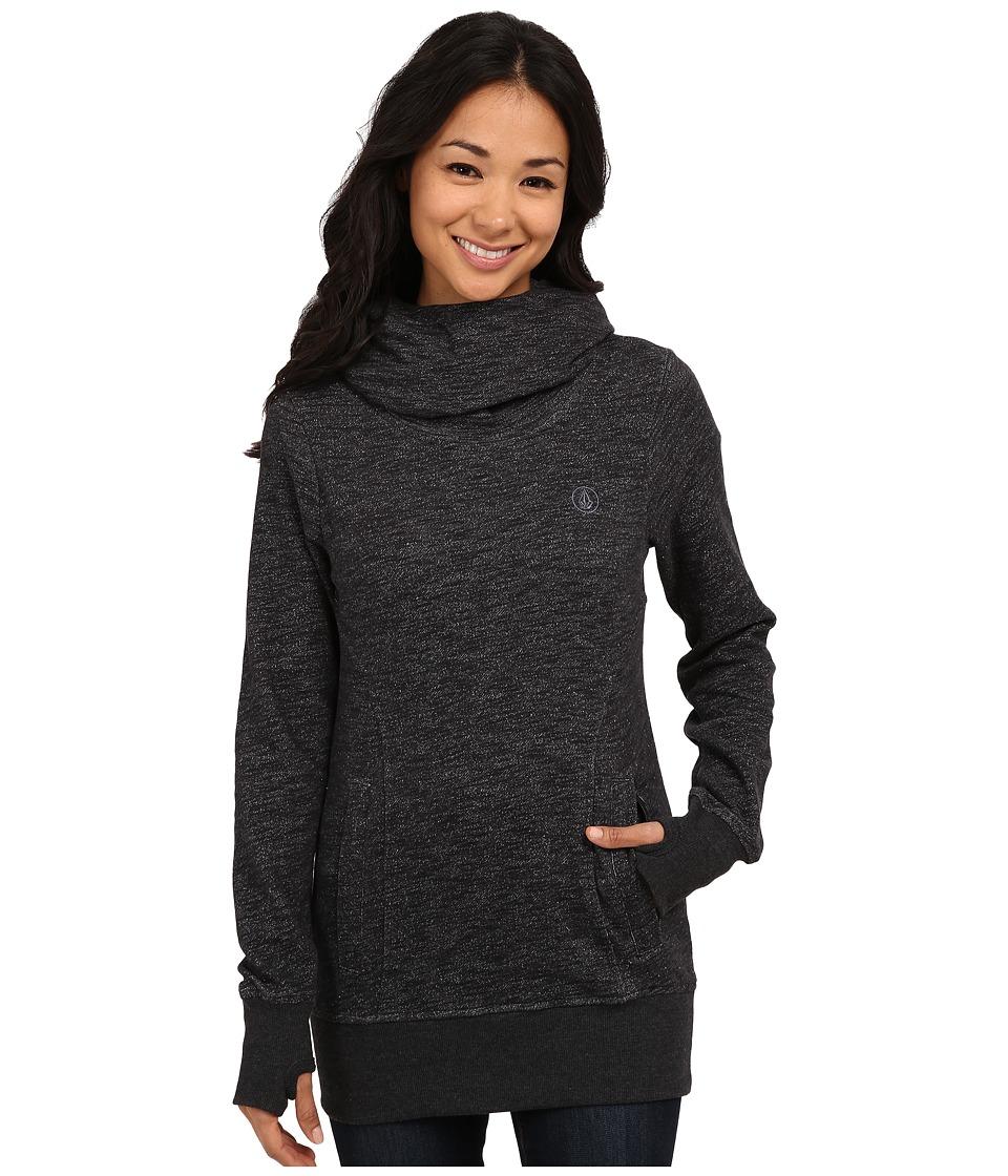 Volcom Snow - Tower Pull Over Fleece (Black) Women